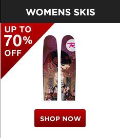 Shop Womens Skis