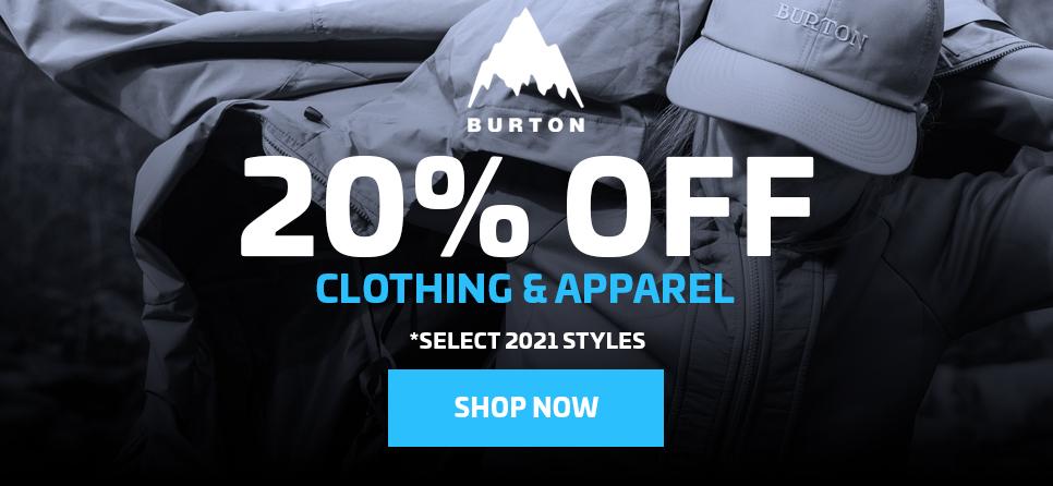 20% OFF BURTON