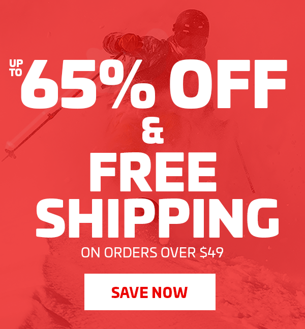 UP TO 65% OFF + FREE SHIPPING