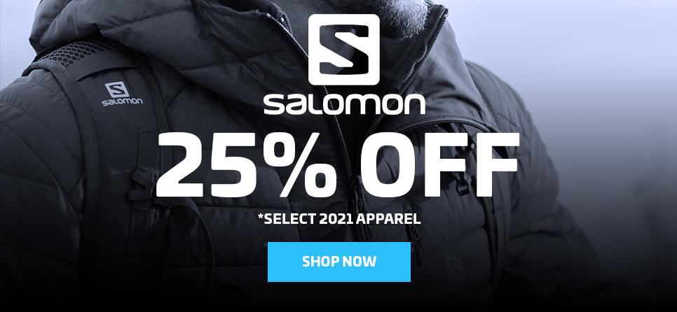 25% OFF SALOMON APPAREL
