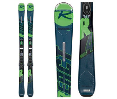Rossignol React R4 Sport Skis with Xpress 10 Bindings 2020