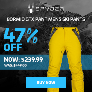 Spyder Bormio GTX Pant Mens Ski Pants 2020