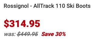 Rossignol AllTrack 110 Ski Boots Info